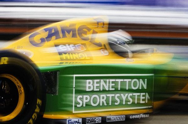 Riccardo Patrese, Benetton B193A Ford.