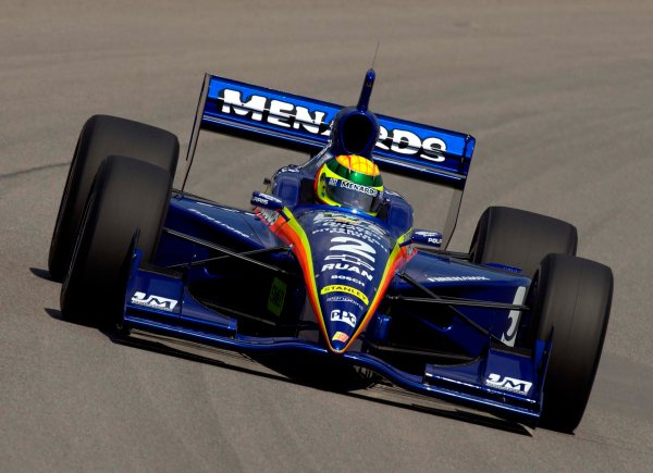 IRL Radisson Indy 225, Pikes Peak International Raceway, Fountain,Colorado, USA 16 June,2002 Mark Dismore takes over the Menard ride.World Copyright: FPWilliams/LAT Photographic