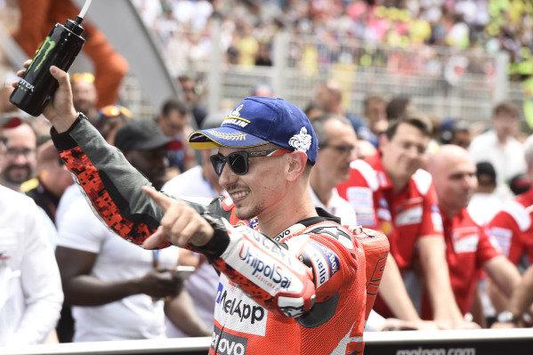 Race winner Jorge Lorenzo, Ducati Team.