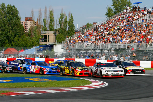 19-20 August, 2011, Montreal, Quebec, CanadaJacques Villeneuve, Alex Tagliani, Steve Wallace and Michael McDowell, Sherwin-Williams / Fix Auto Toyota Camry(c)2011, LAT SouthLAT Photo USA