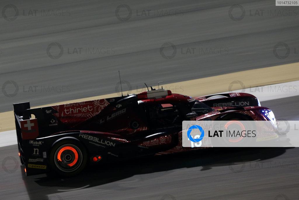 2016 FIA World Endurance Championship, Bahrain International Circuit, 17th-19th November 2016, Matheo Tuscher / Dominik Kraihamer / Alexandre Imperatori  - Rebellion Racing Rebellion R-One AER World Copyright. Jakob Ebrey/LAT Photographic