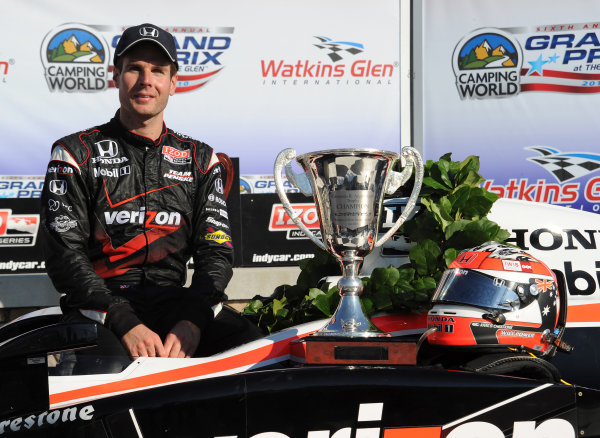 2-4 July, 2010, Watkins Glen, New York USA#12 Verizon Team Penske's Will Power, race winner.©2010, Dan R. Boyd, USA LAT Photographic.