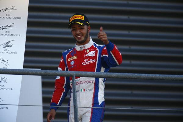 2016 GP3 Series Round 6.  Spa-Francorchamps, Spa, Belgium. Sunday 28 August 2016. Antonio Fuoco (ITA, Trident)  Photo: Zak Mauger/GP3 Series Media Service. ref: Digital Image _L0U1735