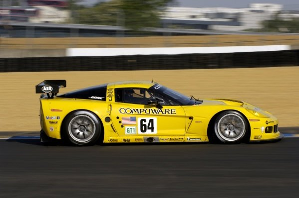Oliver Gavin (GBR) / Olivier Beretta (MON) / Jan Magnussen (DEN) Corvette Racing Corvette C6.R. Le Mans 24 Hours Test Day, Le Mans, France, 4 June 2006. DIGITAL IMAGE
