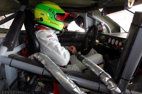Marcel Tiemann (GER).Speedcar Series Testing, Dubai, UAE, 10 November 2008.