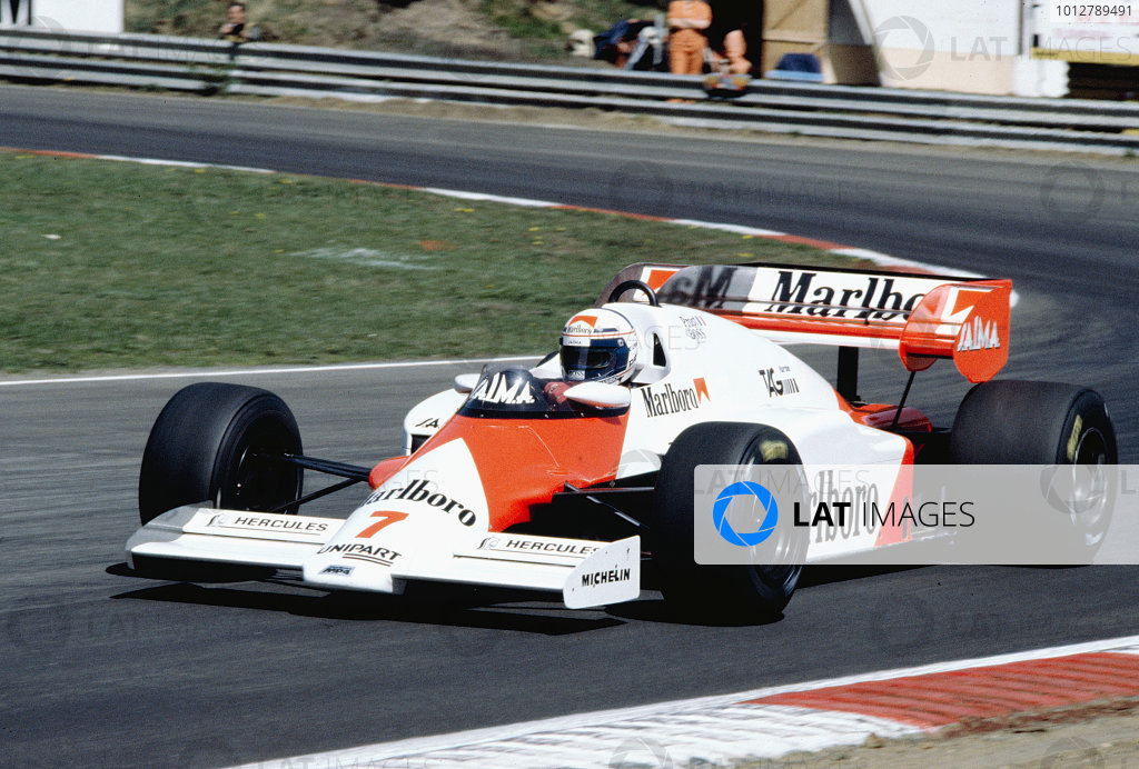 1984 Belgian Grand Prix.
