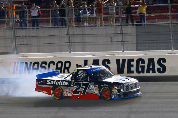 NASCAR Camping World Truck Series Las Vegas 350 Las Vegas Motor Speedway, Las Vegas, NV USA Saturday 30 September 2017 Ben Rhodes, Safelite Auto Glass Toyota Tundra World Copyright: Russell LaBounty LAT Images