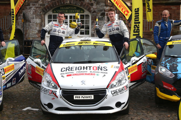 2017 Prestone MSA British Rally Championship,  Pirelli International Rally, Carlisle. 29th - 30th April 2017. William Creighton / Liam Regan Peugeot 208 R2. World Copyright: JEP / LAT Images.