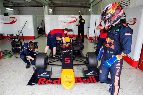 2016 GP3 Series Test 3. Circuit Ricardo Tormo, Valencia, Spain. Wednesday 26 April 2017. Niko Kari (FIN, Arden International)  Photo: Sam Bloxham/GP3 Series Media Service. ref: Digital Image _J6I3603
