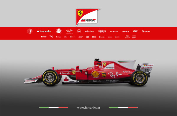Ferrari SF70H Launch Images. Maranello, Italy. Friday, 24 February, 2017. Photo: Copyright Free Ferrari. Editorial use only. Ref: 170014_SF70H