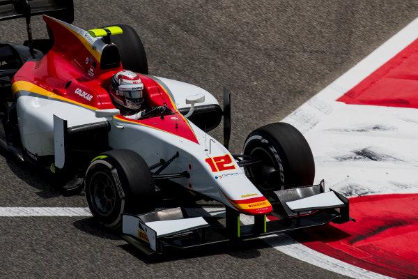 2017 FIA Formula 2 Round 1. Bahrain International Circuit, Sakhir, Bahrain.  Friday 14 April 2017. Stefano Coletti (MON, Campos Racing)  Photo: Zak Mauger/FIA Formula 2. ref: Digital Image _56I9584