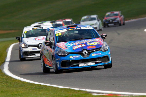 2017 Renault Clio Cup Brands Hatch, 1st-2nd April 2017 Shayne Deegan  World Copyright. JEP/LAT Images