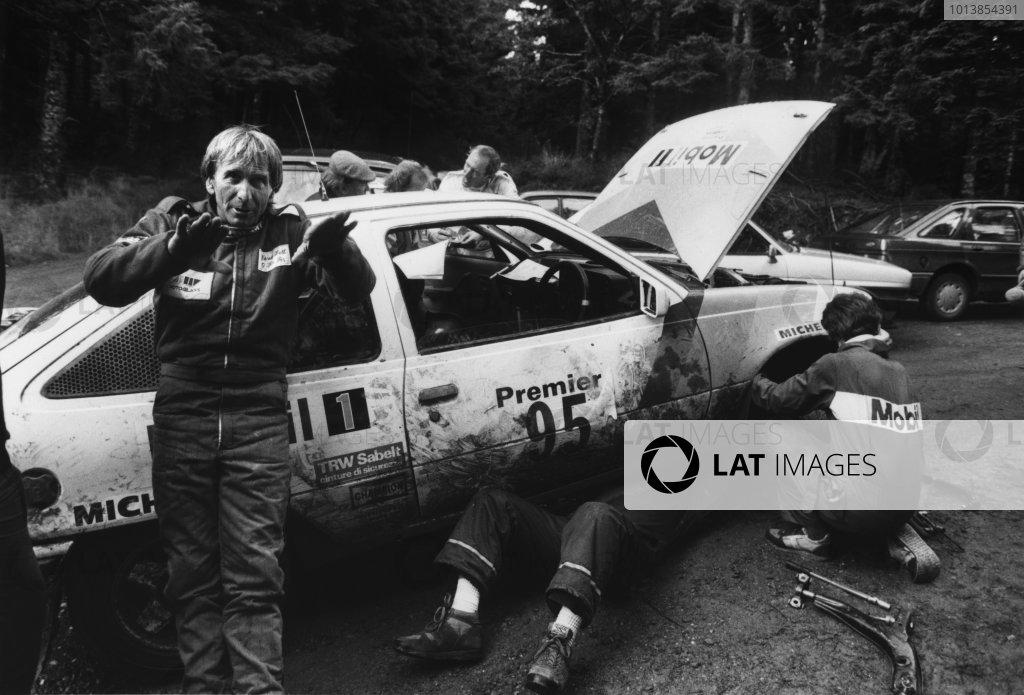 1987 Lombard RAC Rally.
