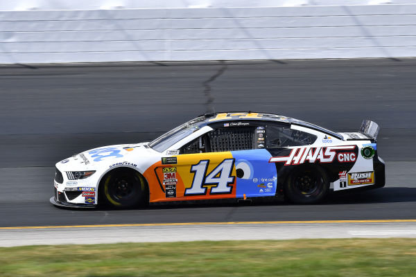 #14: Clint Bowyer, Stewart-Haas Racing, Ford Mustang Toco Warranty/Haas Automation