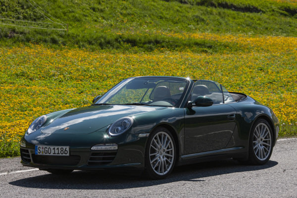 Porsche 911 (997) Carrera 4 Cabrio, 2009