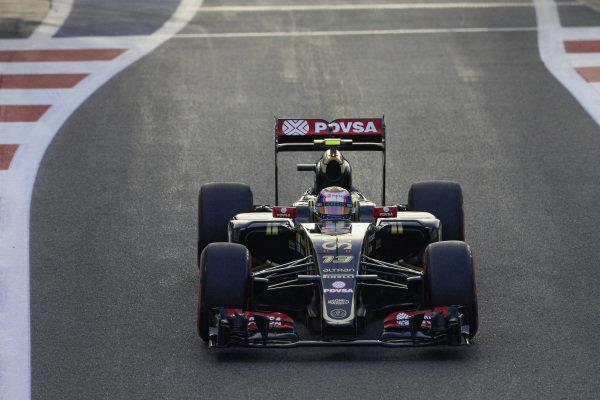 Pastor Maldonado, Lotus E23 Hybrid Mercedes.