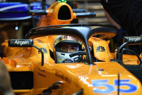 Carlos Sainz Jr, McLaren MCL33 Carlos Sainz Jr, McLaren MCL33
