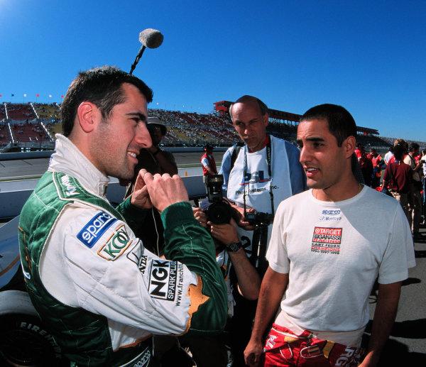 1999 CART California 500, California Speedway 31/10/99Dario and Juan-1999, Michael L. Levitt / USALAT PHOTOGRAPHIC