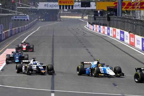 Lirim Zendeli (DEU, MP Motorsport) and Matteo Nannini (ITA, Campos Racing)