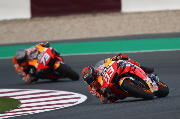 Marc and Alex Marquez, Repsol Honda Team.