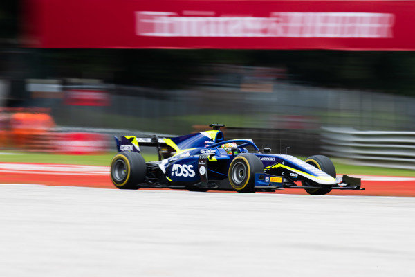AUTODROMO NAZIONALE MONZA, ITALY - SEPTEMBER 06: Louis Deletraz (CHE, CARLIN) during the Monza at Autodromo Nazionale Monza on September 06, 2019 in Autodromo Nazionale Monza, Italy. (Photo by Joe Portlock / LAT Images / FIA F2 Championship)