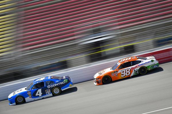 #4: Ross Chastain, JD Motorsports, Chevrolet Camaro Contec, #98: Chase Briscoe, Stewart-Haas Racing, Ford Mustang Nutri Chomps/Blain's Farm & Fleet