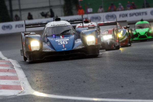 2016 FIA World Endurance Championship, Mexico City, Autodromo Hermanos Rodriguez, 1st-3rd September 2016, Gustavo Menezes / Nicolas Lapierre / Stephane Richelmi - Alpine A460-Nissan World Copyright. Jakob Ebrey/LAT Photographic