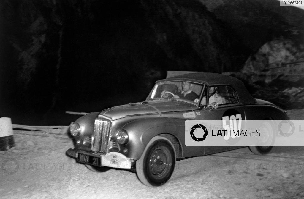 1953 Alpine Rally.