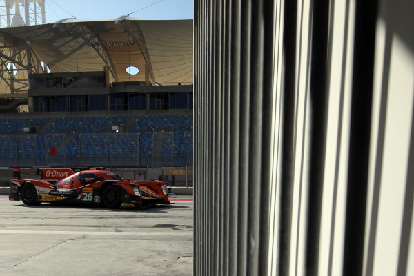 2016 FIA World Endurance Championship Rookie Test, Bahrain International Circuit, 20th November 2016, Felix Serralles / Tom Jackson - G-Drive Racing Oreca 05-Nissan  World Copyright. Jakob Ebrey/LAT Photographic