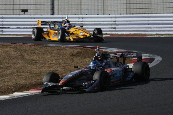 Fuji, Japan. 23rd - 24th November 2013. Rd 7. Fuji Sprint Cup. Winner Yuji Kunimoto ( #39 P.MU/CERUMO·INGING ), action. World Copyright: Yasushi Ishihara/LAT Photographic. Ref: 2013JAF_GP_SF_004