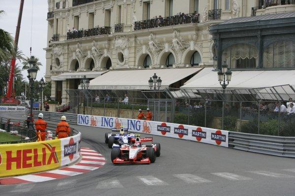 2007 GP2 Series. Round 3. Saturday Race.Monte-Carlo, Monaco. 26th May 2007.Jason Tahinci (TUR, Petrol Ofisi FMS International). Action. World Copyright: Andrew Ferraro/GP2 Series Media Service ref: Digital ImageZP9O1057
