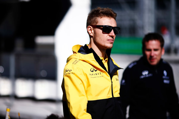 Autodromo Hermanos Rodriguez, Mexico City, Mexico. Thursday 26 October 2017. Sergey Sirotkin, test and development driver, Renault.   World Copyright: Andy Hone/LAT Images  ref: Digital Image _ONZ8934