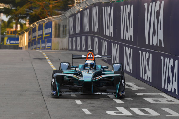 2017/2018 FIA Formula E Championship. Round 1 - Hong Kong, China. Saturday 02 December 2018. Luca Filippi (ITA), NIO Formula E Team, NextEV NIO Sport 003. Photo: Mark Sutton/LAT/Formula E ref: Digital Image DSC_8537