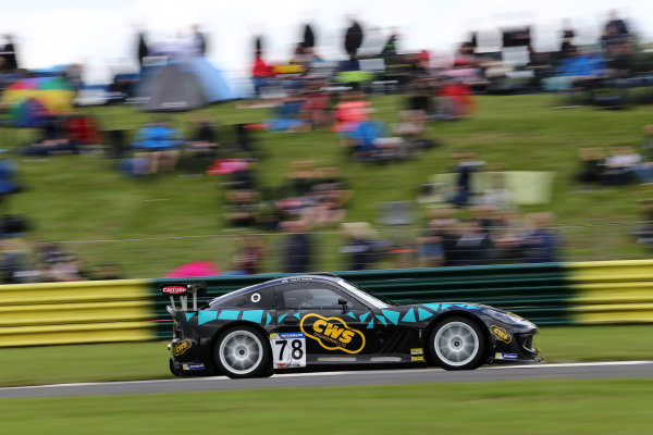 2017 Ginetta GT4 Supercup,  Croft, North Yorkshire. 10th-11th June 2017, Colin White CWS 4x4 Spares Ginetta G55 World copyright. JEP/LAT Images
