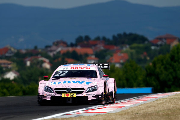 2017 DTM Round 3 Hungaroring, Budapest, Hungary. Sunday 18 June 2017. Lucas Auer, Mercedes-AMG Team HWA, Mercedes-AMG C63 DTM World Copyright: Alexander Trienitz/LAT Images ref: Digital Image 2017-DTM-R3-HUN-AT1-1943