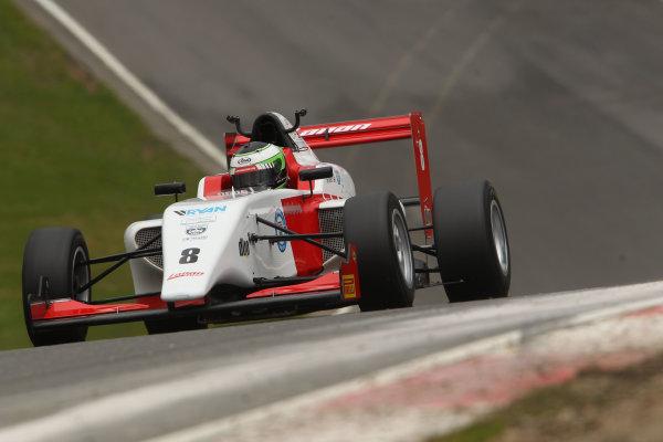 2016 BRDC British Formula 3 Championship, Brands Hatch, Kent. 16th - 17th April 2016. Toby Sowery (GBR) Lanan Racing BRDC F3. World Copyright: Ebrey / LAT Photographic.