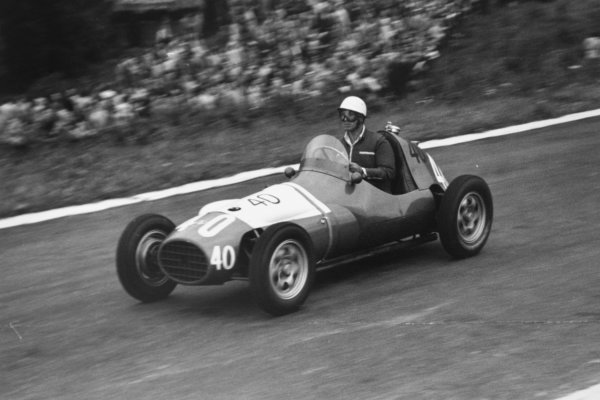 1952 Belgian Grand Prix.Spa-Francorchamps, Belgium. 22 June 1952.Robin Montgomerie-Charrington (Aston-Butterworth NB41). Ref-52/24 #10A.World Copyright - LAT Photographic