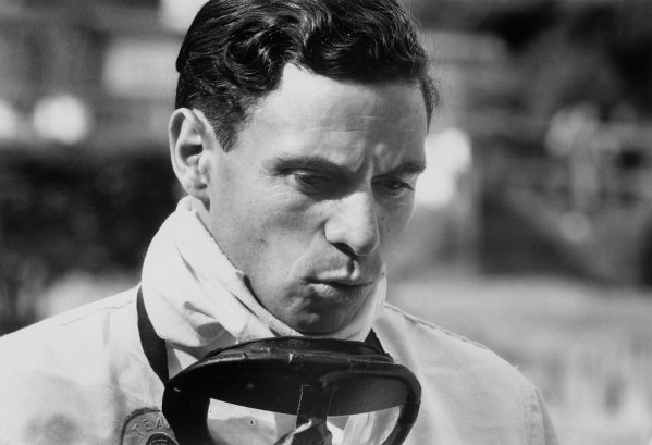 Jim Clark, Lotus, portrait.