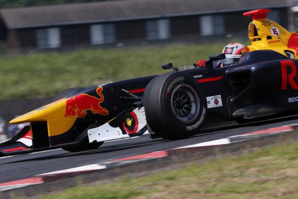 2017 Japanese Super Formula. Autopolis, Japan. 8th - 9th September 2017. Rd 5. Winner Pierre Gasly ( #15 TEAM MUGEN SF14 ) action World Copyright: Masahide Kamio / LAT Images 2017_SF_Rd5_003