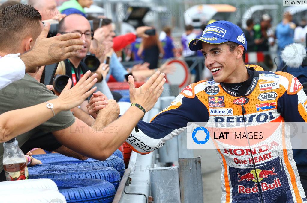 2017 MotoGP Championship - Round 10 Brno, Czech Republic Sunday 6 August 2017 Race winner Marc Marquez, Repsol Honda Team World Copyright: Gold and Goose / LAT Images ref: Digital Image 50362