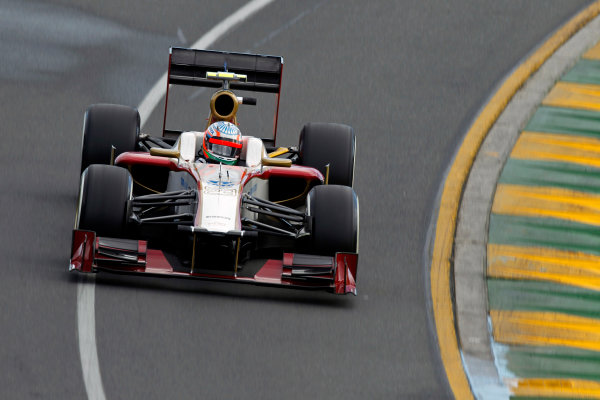 Narain Karthikeyan Formula 1 Photos: Australian GP (2012)