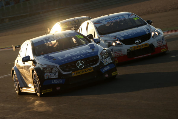 2015 British Touring Car Championship, Silverstone, Northants. 26th-27th September 2015, Aiden Moffat (GBR) Laser Tools Racing Mercedes-Benz A-Class World copyright. Jakob Ebrey/LAT Photographic