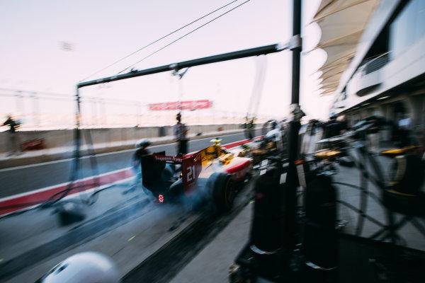 Bahrain International Circuit, Sakhir, Bahrain. Friday 31 March 2017 Sean Gelael (INA) Pertamina Arden  Photo: Malcolm Griffiths/FIA Formula 2 ref: Digital Image MALC1737