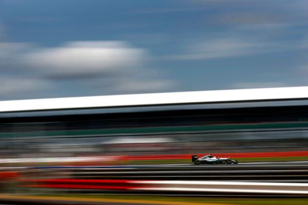 Silverstone, Northamptonshire, UK Friday 08 July 2016. Lewis Hamilton, Mercedes F1 W07 Hybrid. World Copyright: Glenn Dunbar/LAT Photographic ref: Digital Image _V2I7227