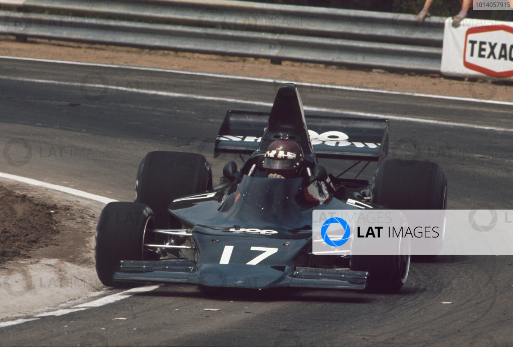 1973 Belgian Grand Prix.  Zolder, Belgium. 18-20th May 1973.  Jackie Oliver, Shadow DN1 Ford.  Ref: 73BEL64. World Copyright: LAT Photographic