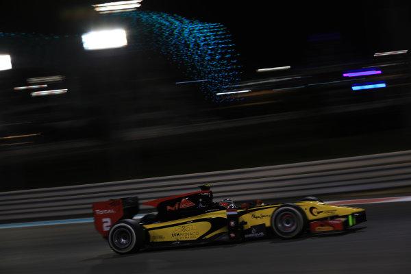 2013 GP2 Series Test 3 Yas Marina Circuit, Abu Dhabi, UAE. Day 3, Thursday 7th November 2013. Stephane Richelmi (MON, Dams)  World Copyright: Sam Bloxham/LAT Photographic. ref: Digital Image IMG_6008