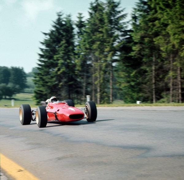 Spa-Francorchamps, Belgium.16-18 June 1967.Chris Amon (Ferrari 312) 3rd position.Ref-3/2953.World Copyright - LAT Photographic