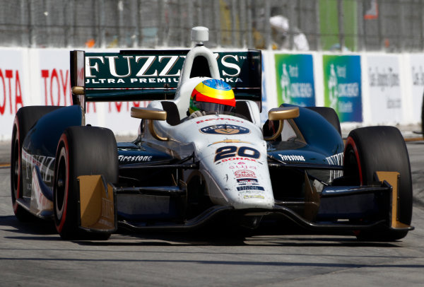 11-13 April, 2014, Long Beach, California USA Mike Conway ©2014, Phillip Abbott LAT Photo USA