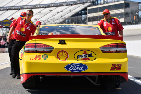 Monster Energy NASCAR Cup Series AAA 400 Drive for Autism Dover International Speedway, Dover, DE USA Friday 2 June 2017 Joey Logano, Team Penske, Shell Pennzoil Ford Fusion World Copyright: Nigel Kinrade LAT Images ref: Digital Image 17DOV1nk04888