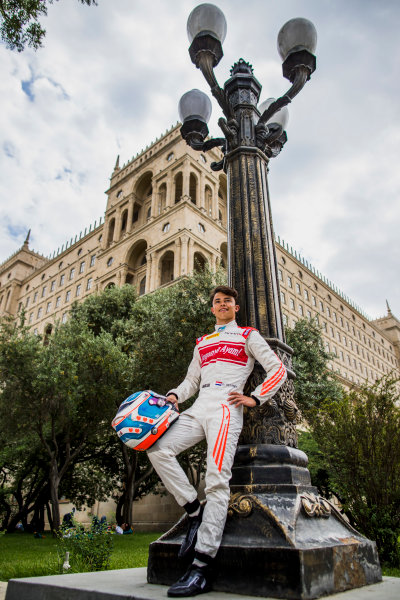 2017 FIA Formula 2 Round 4. Baku City Circuit, Baku, Azerbaijan. Thursday 22 June 2017. Nyck De Vries (NED, Rapax)  Photo: Zak Mauger/FIA Formula 2. ref: Digital Image _54I9274